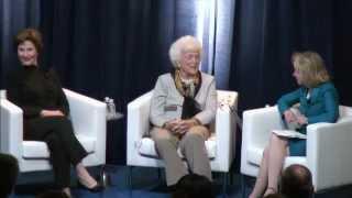 A Conversation with First Ladies Barbara & Laura Bush