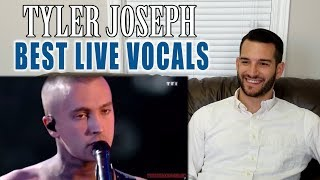 VOCAL COACH reacts to TYLER JOSEPH'S best LIVE VOCALS