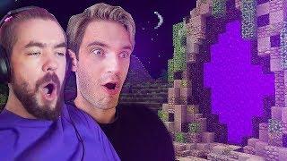 We found the CRAZIEST Nether in Minecraft! - Minecraft with Jacksepticeye - Part 3