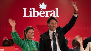 Canadian federal election night in under 7 minutes