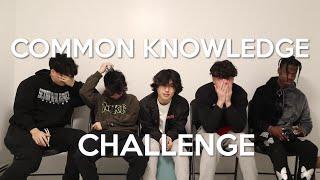 Common Knowledge Quiz w The Boys