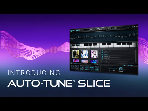 Introducing Auto-Tune Slice: The new vocal sampling instrument powered by the full force of Auto-Tune. Create music using your own samples or explore a massive and expanding collection of exclusive vocal presets from cutting-edge artists, producers, and singers including Bon Iver, Aaron Dessner, and more.  Automatically slice up samples and play them on your keyboard to discover new sounds and grooves you never knew were possible. Play anything. With Auto-Tune Slice.