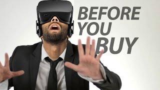 Oculus Rift - Before You Buy