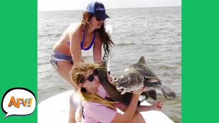 PHOTO Turned FISH SLAP! 😂   Fails of the Week   AFV 2021