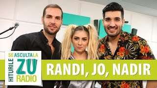 Randi feat. Jo & Nadir - Ca doi copii (Nebuni in dragoste) (Live la Radio ZU)