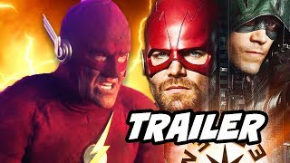 The Flash Elseworlds Trailer 2 - 90s Flash Scene Explained