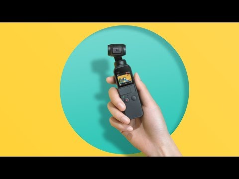 video DJI Osmo Pocket Standard
