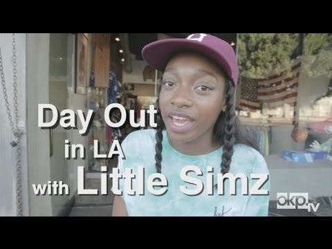 Day Out with Little Simz in LA