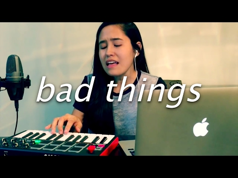 bad things by machine gun kelly feat camila cabello   cover