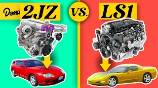 JZ Vs LS - The Best Engines IN THE WORLD!