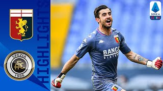 Genoa 2-0 Spezia | Shomurodov Seals Genoa Win With Late Strike In The Ligurian Derby! | Serie A TIM