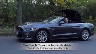 mods4cars SmartTOP for Ford Mustang Convertible 6th Gen - One-Touch operate the Top while driving