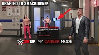 WWE 2K19 My Career Mode After ENDING - This Will Happen If You Leave Raw & Join Smackdown! Part 6