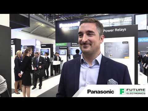 Future Electronics at Electronica 2018:  Meeting with Panasonic Industrial