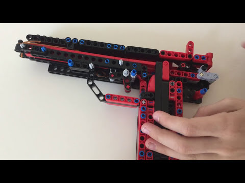 Lego Technic Pistol Instruction Videomoviles