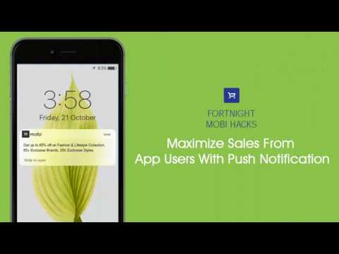 Maximize Your Sales From App Users With Push Notification
