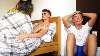 I Spent the Night in my Ex Girlfriends House & She had No Idea... (24 Hour Challenge)