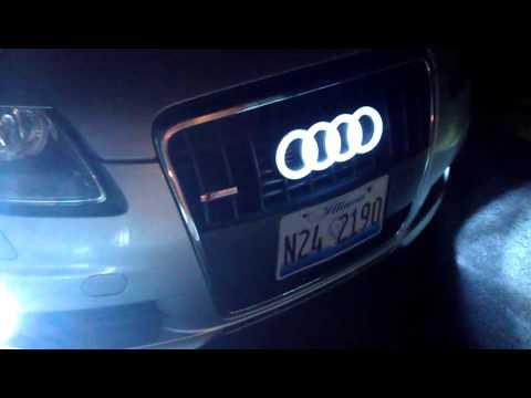 Audi Ring Led Emblems