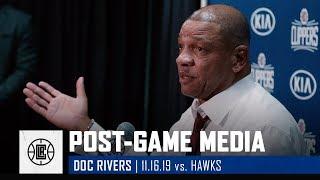 Doc Rivers Breaks Down Paul George's Home Debut | LA Clippers