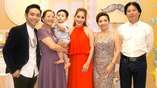 Khánh Thi bị lép vế khi đứng cạnh Bố mẹ chồng trẻ đẹp giàu có - TIN TỨC 24H TV