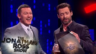 Luke Evans And Hugh Jackman's Gaston Sing Off - The Jonathan Ross Show