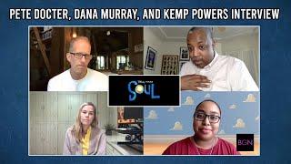 Dir Pete Docter, Producer Dana Murray & Writer Kemp Powers of 'Soul'   BGN Interview