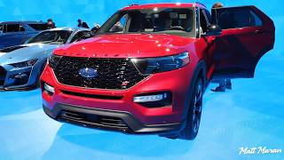 2020 Ford Explorer ST Close-Up Look - 2019 NAIAS