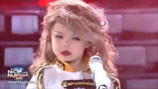 Little Girl Impersonates Taylor Swift On TV Show!