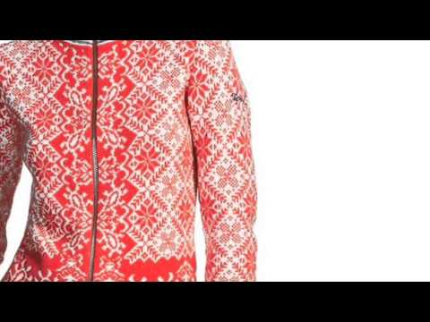 Bogner Wendy Womens Knitted Top in Red