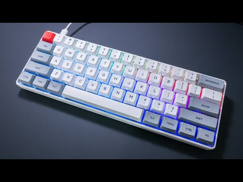 video Geek Customized SK61 61 Keys NKRO Gateron Keyboard