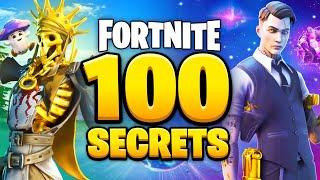 100 SECRET Fortnite Facts