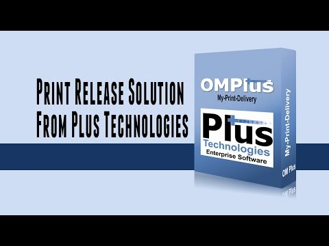 Secure printing mobile print app: Print Release (Solution)