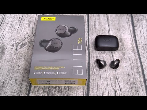 video Jabra Elite 75t Earbuds: A Complete Review