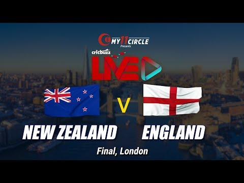 Cricbuzz LIVE: The Final, New Zealand v England, Pre-match show