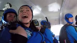 Trust in Soda - Enham Trust Charity Skydive - Francesca Pollard