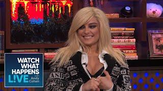 Bebe Rexha Sings Katy Perry's Praises   WWHL