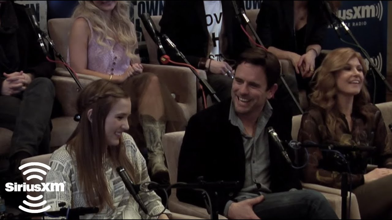 nashville cast on performing for a live audience siriusxm the highway jan 2014 youtube. Black Bedroom Furniture Sets. Home Design Ideas