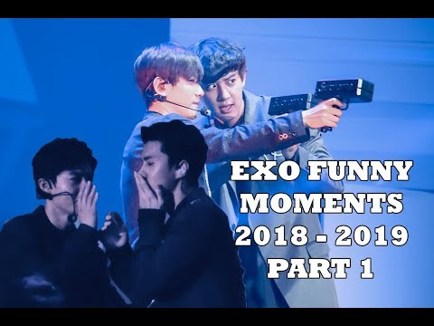 EXO FUNNY MOMENTS 2018 - 2019 PART 1 (7YEARS WITH EXO)