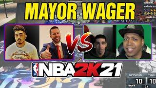 Tyceno/Troydan vs Grinding/Shake - NBA 2K21 Mayor Wager