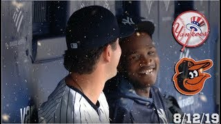 New York Yankees Highlights: vs Baltimore Orioles | 8/12/19 (Game 2)