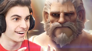 Overwatch Reinhardt Short REACTION! & THE NEW HERO MOIRA!