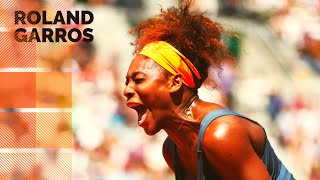 Serena Williams vs Svetlana Kuznetsova - 2013 French Open QF Highlights