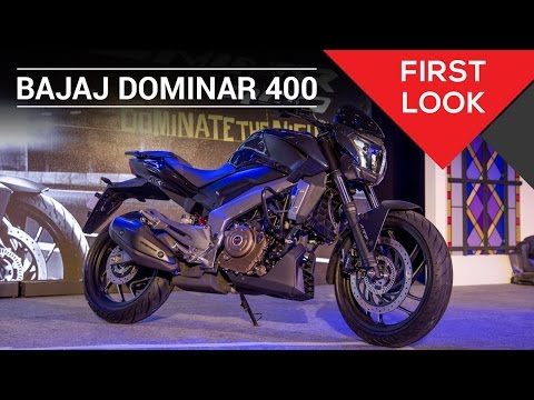 Bajaj Dominar 400: First Look Video