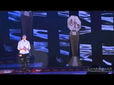 2012.08.05 新城國語力頒獎禮 張芸京 喘息