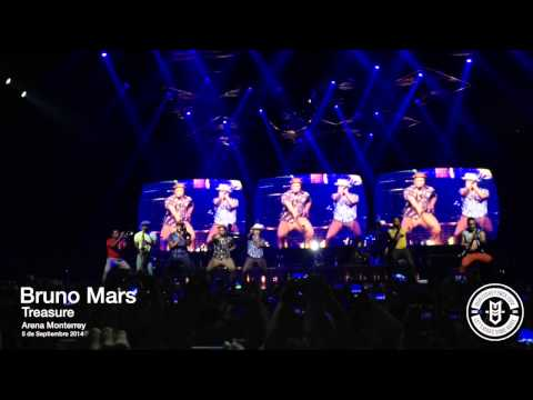 Baixar Bruno Mars - Treasure - Arena Monterrey (5-Sep-2014)
