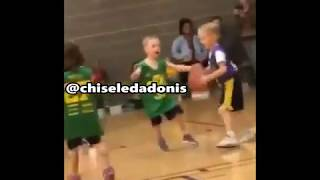 Disabled Man has wheelchair destroyed during basketball... Toddler builds relationship with floor