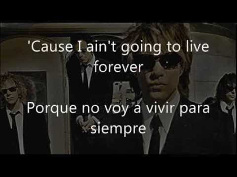 Baixar Bon Jovi - It's My Life Lyrics (subtitulada y traducida al español)
