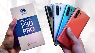 Huawei P30 Pro UNBOXING!