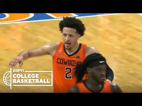 2021 NBA Mock Draft No. 1 pick Cade Cunningham's Oklahoma State debut | ESPN College Basketball