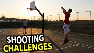 BASKETBALL SHOOTING CHALLENGES!!